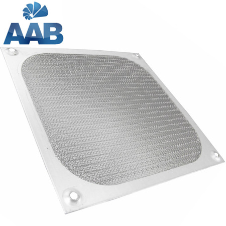 AAB Cooling Aluminum Filter / Grill 80 Silver