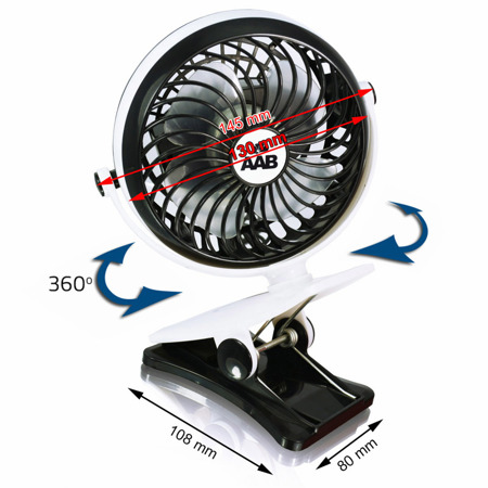 The AABCOOLING USB Fan 6