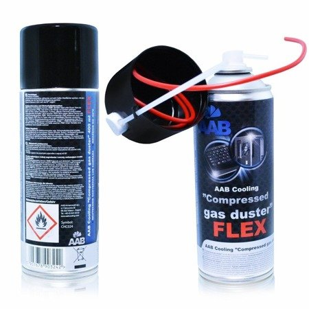 AAB Compressed Gas Duster FLEX 400ml
