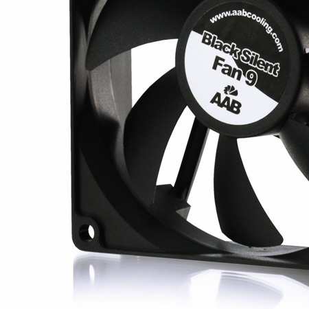 AAB Cooling Black Silent Fan 9