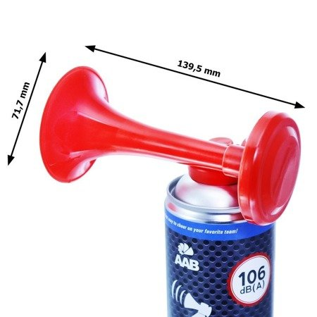 AAB Signal GAS Horn 400ml