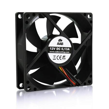 AABCOOLING Black Silent Fan 8
