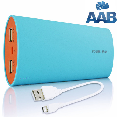 NonStop PowerBank Herro Blau 12000mAh