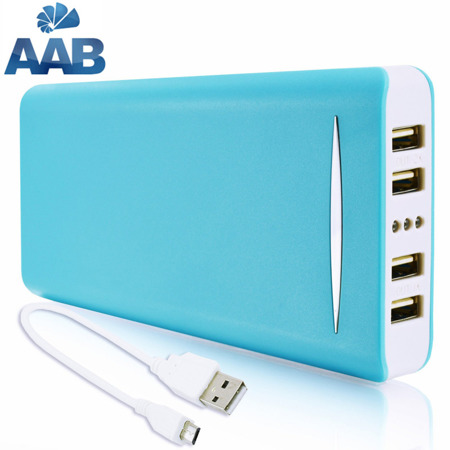 NonStop PowerBank Sella Blau 16000mAh